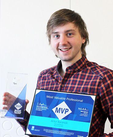 MVP Microsoft Azure 2016 Artur Baranok
